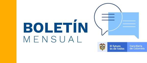 El Consulado de Colombia en París presenta el  boletín mensual de abril de 2021