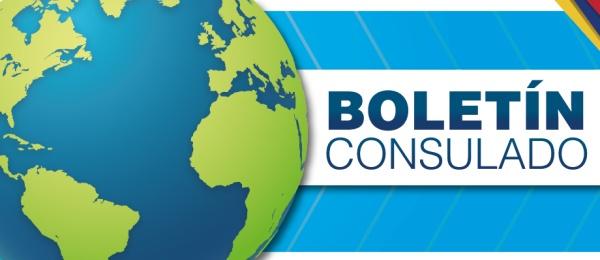 Boletín informativo del Consulado de Colombia en París de julio
