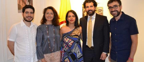 Consulado de Colombia conmemoró el 208 aniversario de la Declaración de Independencia de Colombia
