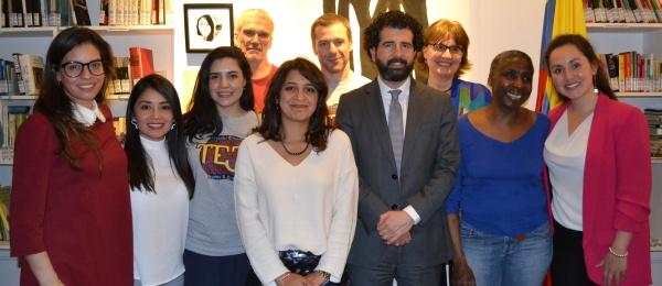 Consulado de Colombia en París inicia las actividades de conmemoración del Día Nacional de la Memoria y Solidaridad con las Víctimas