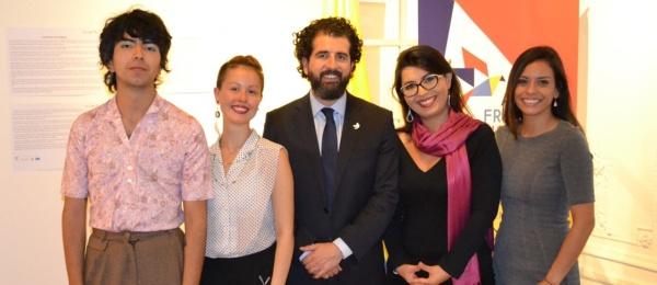 """El Consulado de Colombia inauguró la exposición """"Fisionomías Encontradas"""""""