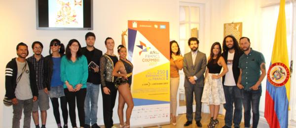 El Consulado de Colombia en París inauguró Paz Partout