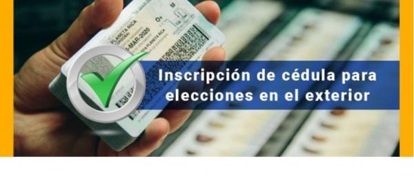 Información sobre inscripción de cédulas en el Consulado de Colombia en París para comicios electorales