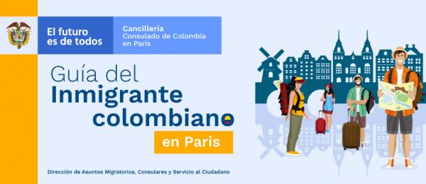 Guía del inmigrante colombiano en París en 2019