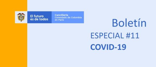 Colombianos que se encuentran en Francia en calidad de viajeros temporales y están en condiciones de necesidad pueden informar su situación al Consulado en París