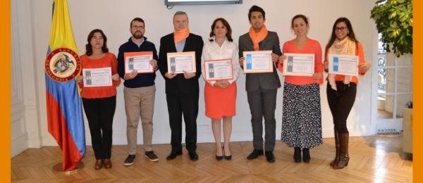 El Consulado de Colombia en París se vinculó a la conmemoración del Día Internacional de la Eliminación dela violencia contra las Mujeres